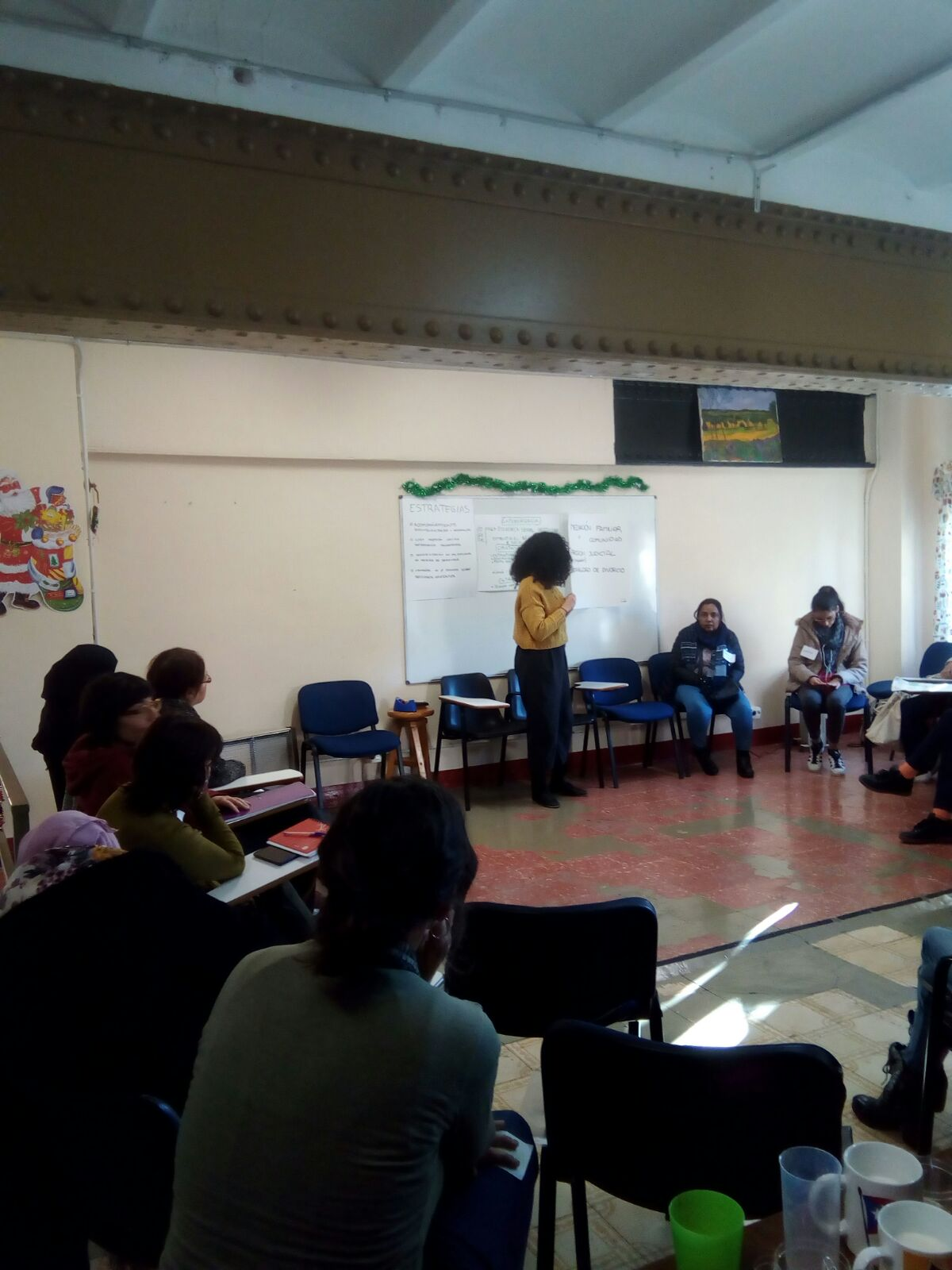 Intercambio experiencias y estrategias contra la violencia machista